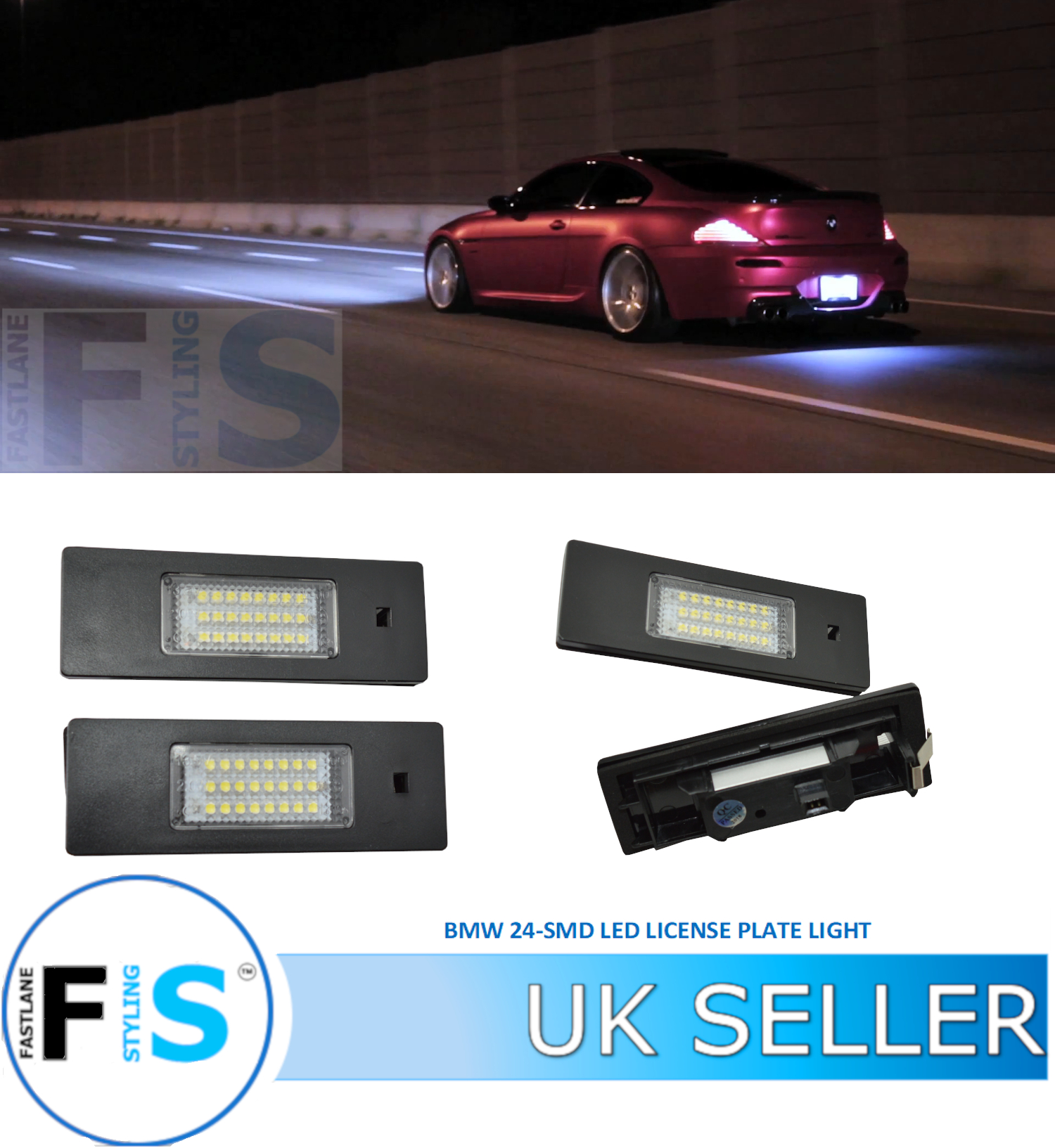 Licence Number Plate CANBUS LED Bulbs fit MINI COOPER